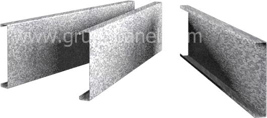Chapa acero galvanizado perfect tubo de acero galvanizado for Perfiles de hierro galvanizado precio